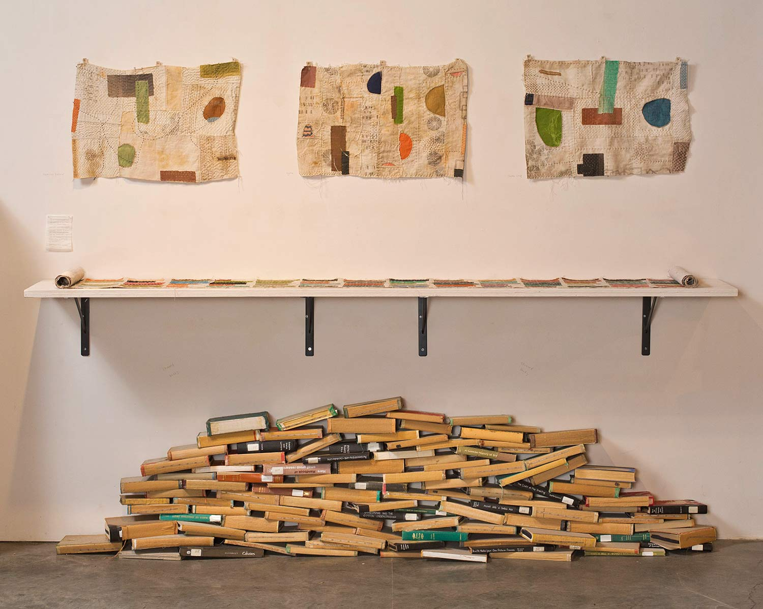 KEEP: Modern Library installation at R. Blitzer Gallery, 2015